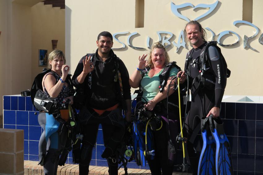 Tolles Tauchteam :), Scuba World Divers Makadi Bay , Ägypten, Hurghada