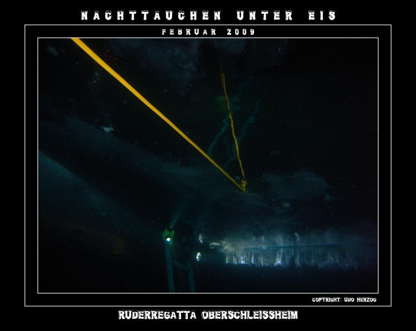 Regattastecke Oberschleißheim / München, Regatta-Anlage München/Oberschleißheim,Bayern,Deutschland,Oberschleißheim,Nacht,Mood