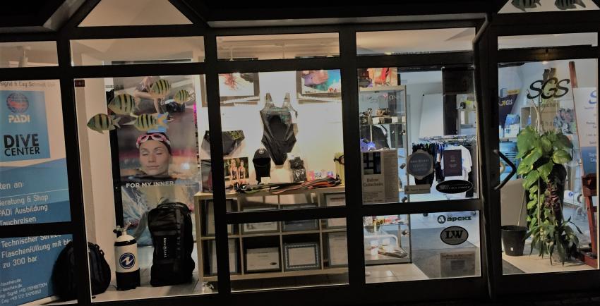 Unser Shop in Balve, SGS Tauchen - Sigrid & Cay Schmidt GbR, Balve, Deutschland, Nordrhein-Westfalen
