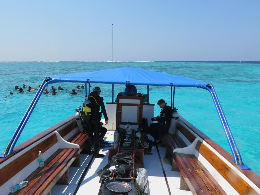 Speed-Boot Manta, One Ocean Zanzibar (Ostküste-Kiwengwa), Tansania