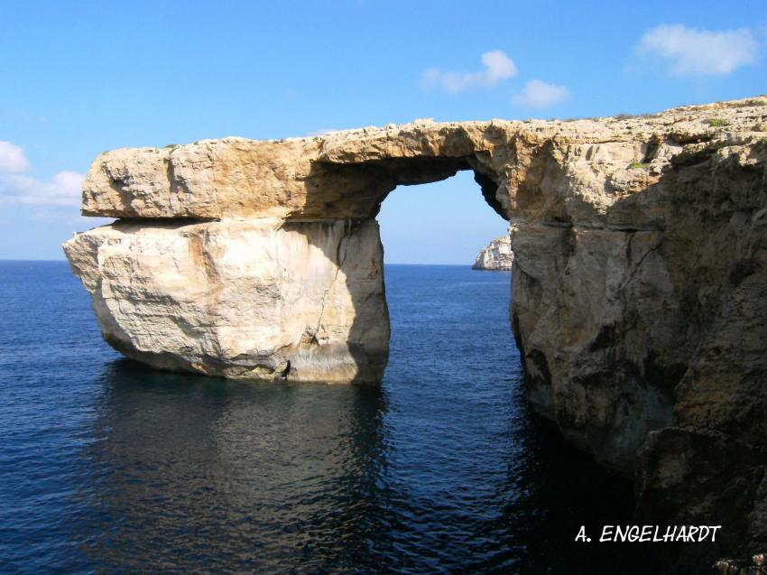 Crocodile Rock/Blue Hole, Gozo, Crocodile Rock,Gozo,Malta,Das ´Azure Window´