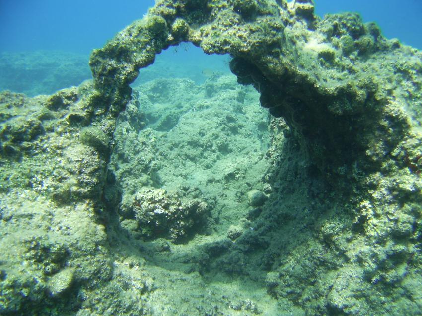 Nicht spektakulär, aber besser wie nur Ostsee., Scuba Turtle - Diving School, Türkei