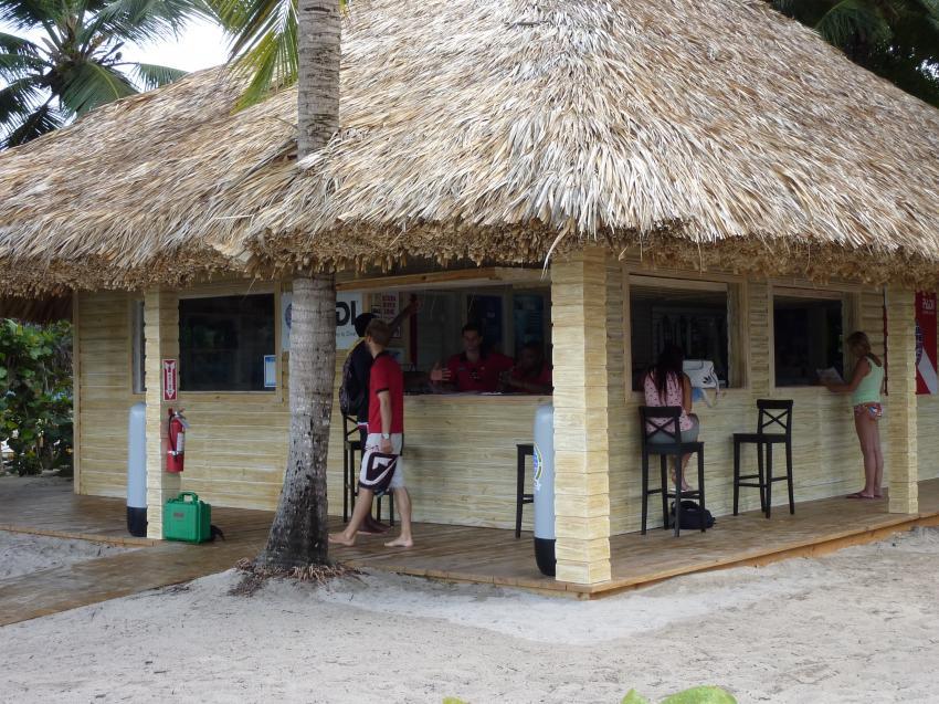 Neue Tauchbasis, Pro Dive International Catalonia Bayahibe, Dominikanische Republik