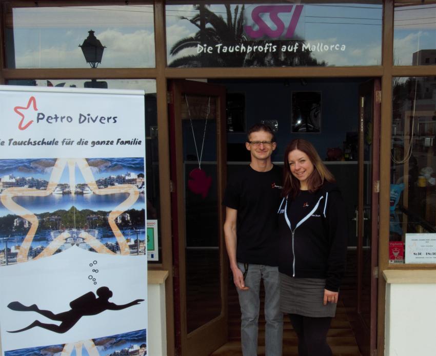 Petro Divers, Porto Petro, Mallorca, Spanien, Balearen