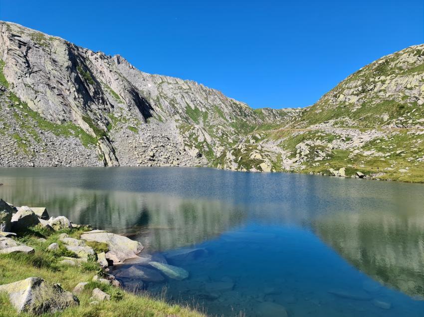 Bergsee, Lago di Sassolo, Lavizzara, Schweiz