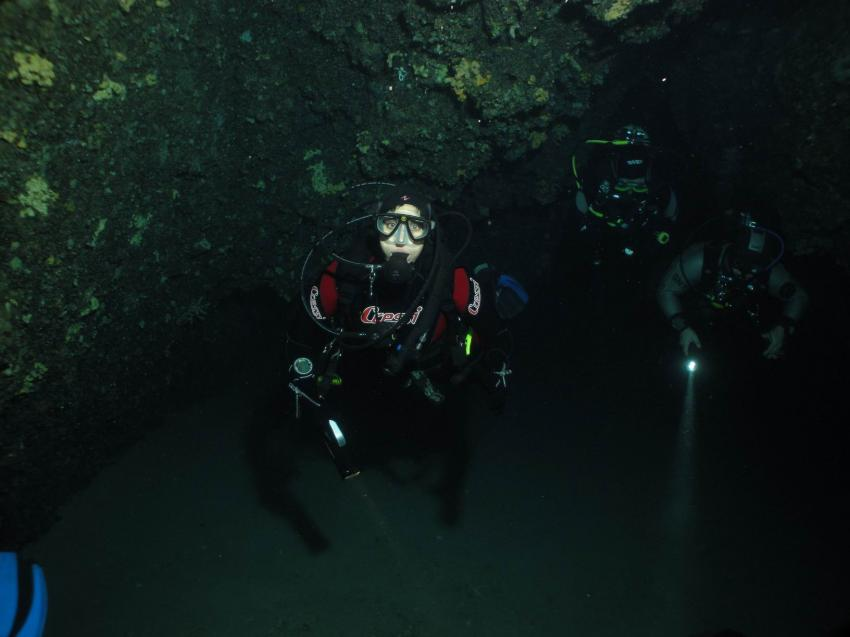 Eindrücke aus Kas, Kas,lykische Küste,Türkei,Taucher,Höhle,Eingang