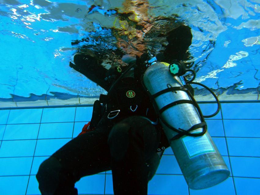 Pooltraining 05-2012 Aqua Action, Pooltraining Gerlingen,Baden Württemberg,Deutschland,Ausbildung,Pool,Abtauchen