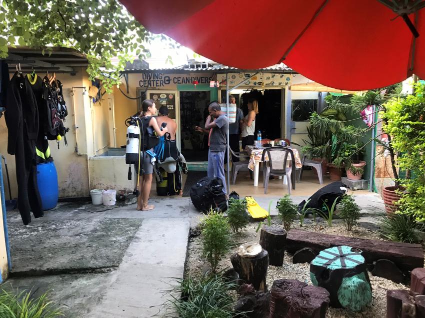 nach dem TG, Ocean Divers, Flic en Flac, Mauritius