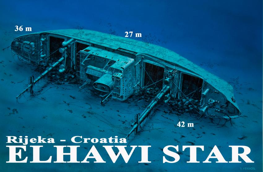 Elhawi Star, Kroatien