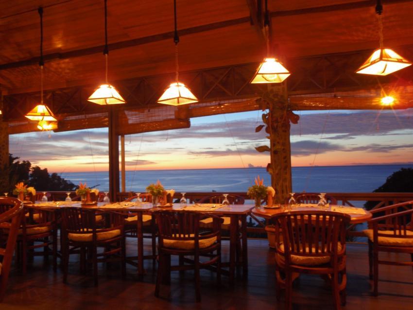 Restaurant, lumbalumba diving, manado, Indonesien, bunaken, tauchen, sulawesi, resort, Lumbalumba Diving Resort, Manado, Sulawesi