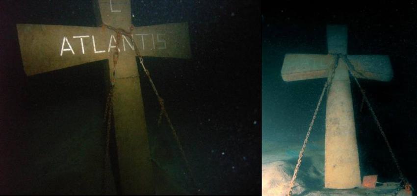 Atlantis Kreuz, wörthersee, atlantis, atlantis place, steilwände, steilwandtauchen, wrack, pauli, fische, zander island, kreuz, atlantis kreuz, Atlantis Place, Österreich