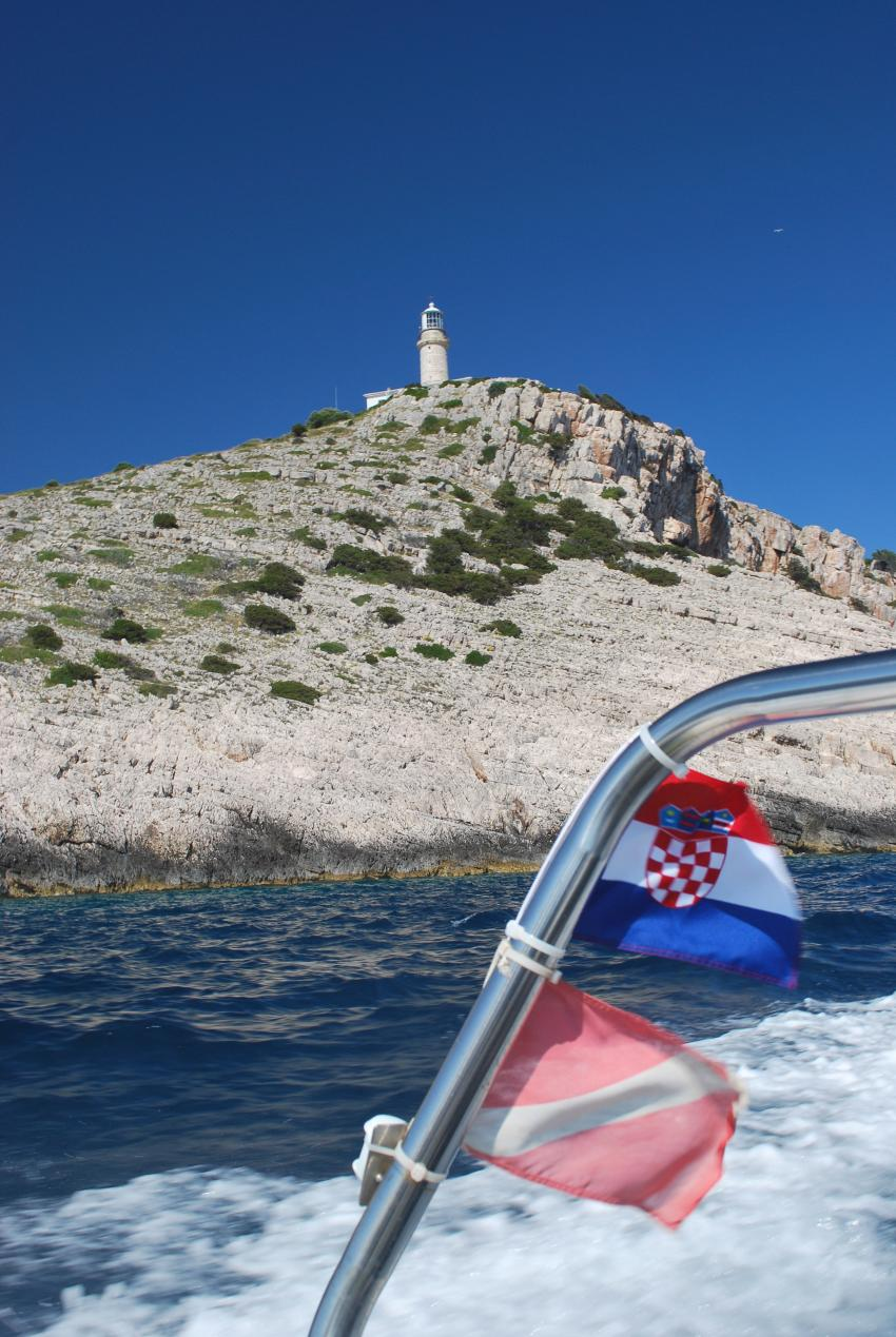 Insel Lastovo, Insel Lastovo,Kroatien,Leuchtturm,Kap Struga