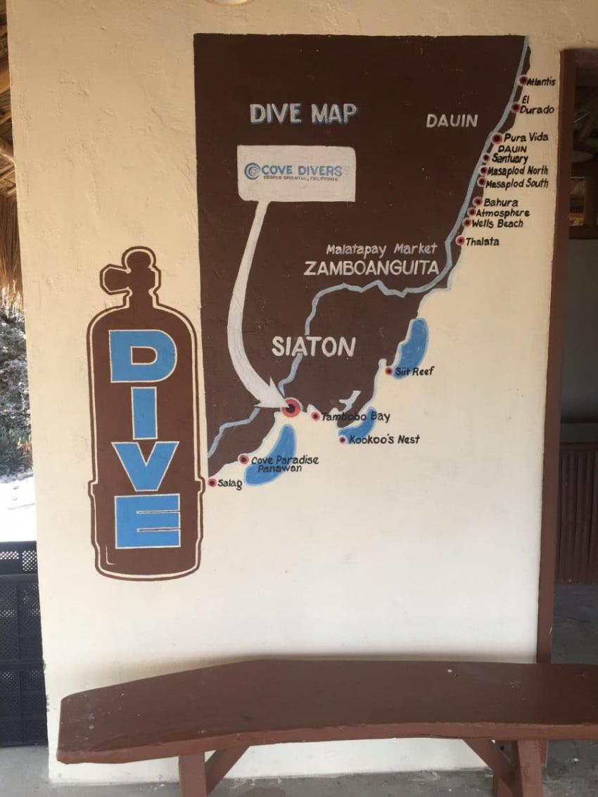 Tauchplätze Cove Divers, Cove Divers, Philippinen
