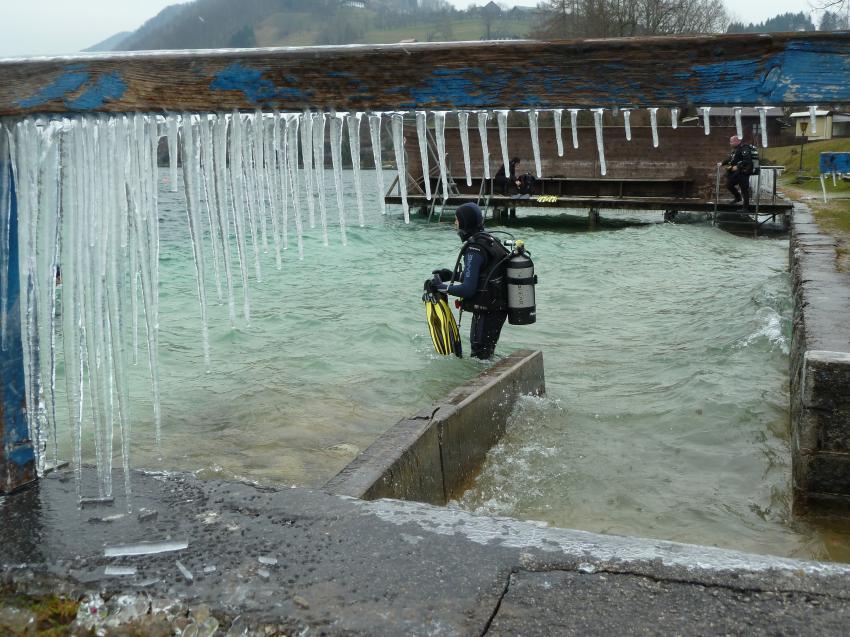 Kaltwassertauchen