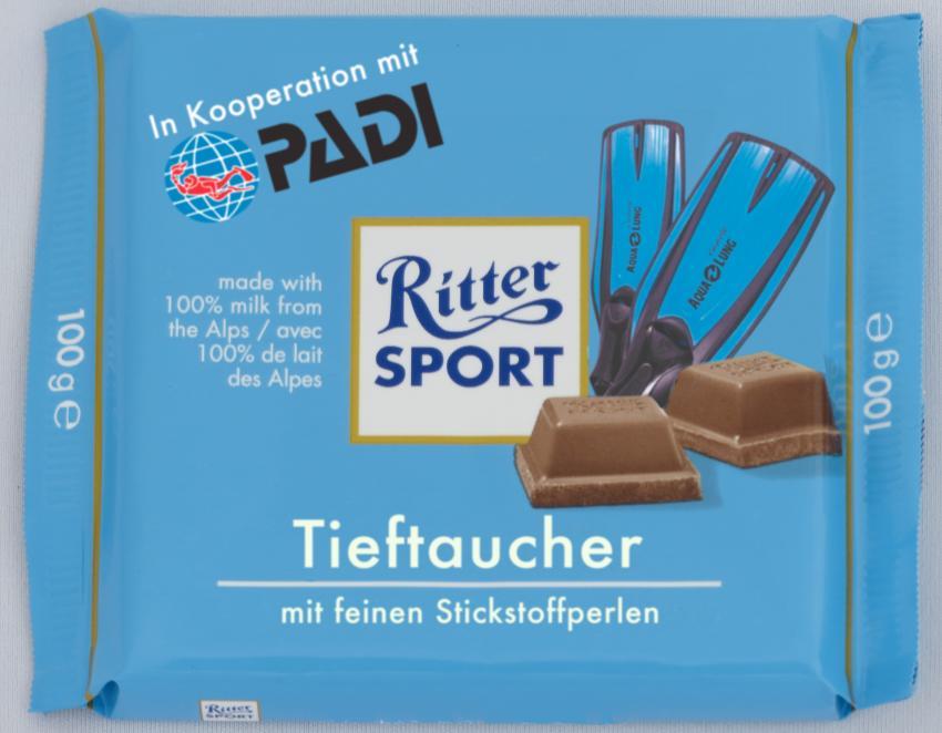PADI Ritter Sport
