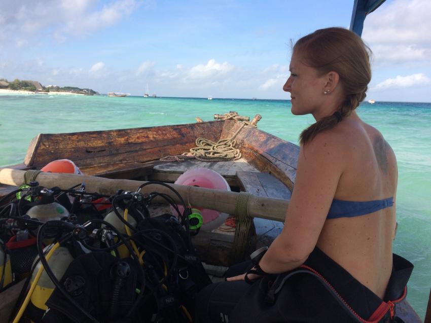 Boot Ilse, Diving Poseidon, Nungwi - Sansibar, Tansania