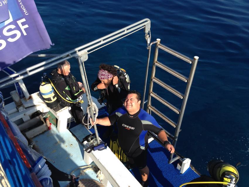 An Ord der Bougainville, Bougainville Adventure Diving, Türkei