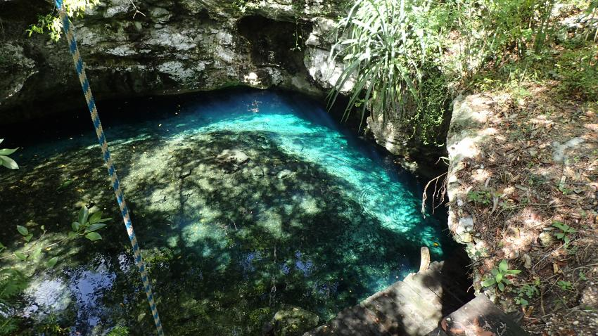 Cenote Dreamgate, Cenote Dream Gate, Mexiko