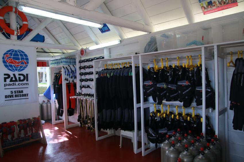 ScubaCaribe Le Morne Tauchbase, ScubaCaribe Le Morne - RIU Hotels, Mauritius