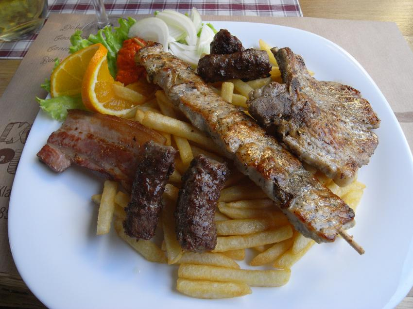 Mixed Grill, Konoba Punat, Punat, Insel Krk, Kroatien