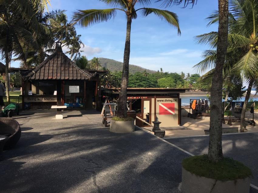 Tauchbasis, diving.DE Candidasa, Candi Beach, Bali, Indonesien, Bali