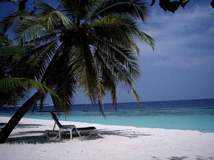 Thudufushi (Alifu Dhaalu Atoll), Thudufushi,Malediven,Mein Liegestuhl,Strand