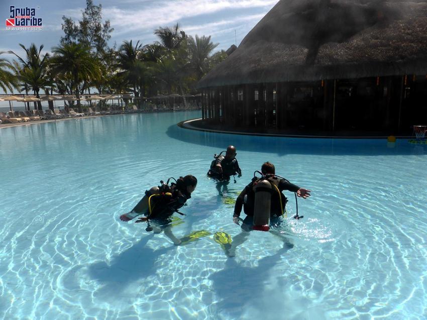ScubaCaribe Le Morne - Pool, ScubaCaribe Le Morne - RIU Hotels, Mauritius