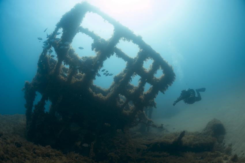 HMS Maori (F24), HMS Maori, Wrack, Tribal-Klasse, Grand Harbour, Wrack HMS Maori, St. Elmo Bay, Valetta, Malta, Malta - Hauptinsel
