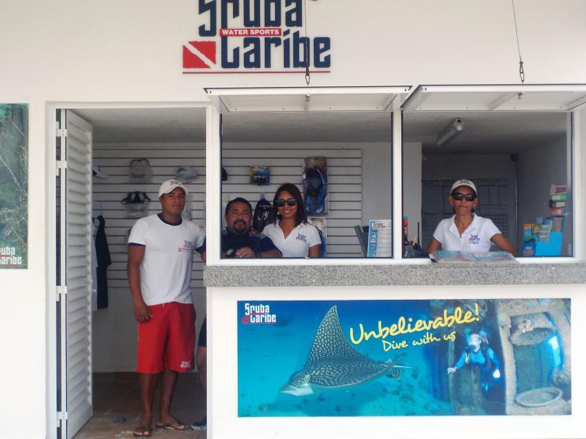 ScubaCaribe RIU Cancun Tauchbase, ScubaCaribe Riu Caribe, Mexiko