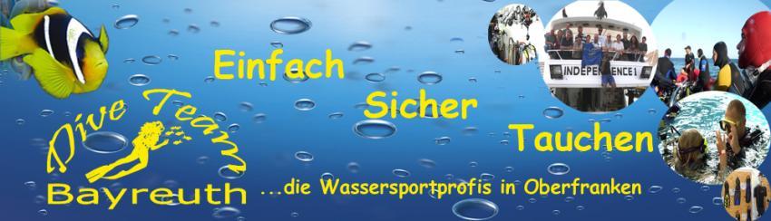 Einfach Sicher Tauchen, Dive Team Tauchschule, Bayreuth, Deutschland, Bayern