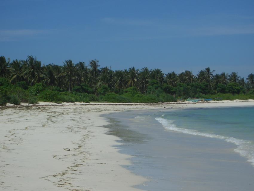 Lombok, Lomboks Süden,Indonesien,Strand,Palmen
