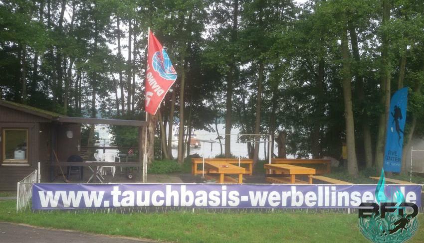 """Werbellinsee Tauchplatz """"Basis EJB"""", Deutschland, Brandenburg"""