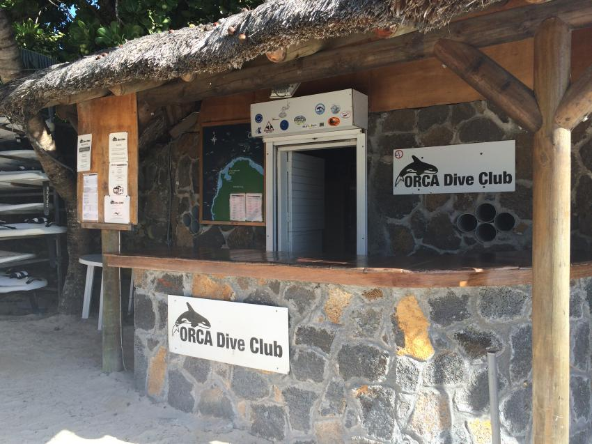 Direkt am Strand, ORCA Diveclub Merville, Grand Baie, Mauritius