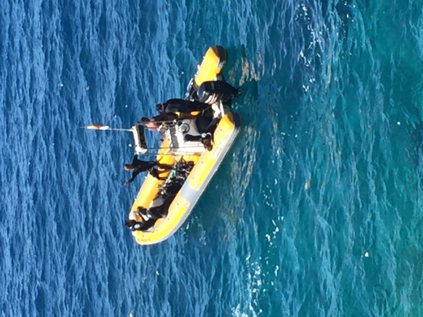 An der küste, Anfänger Unterricht, Top Diving, Gran Canaria Puerto Rico, Spanien, Kanarische Inseln