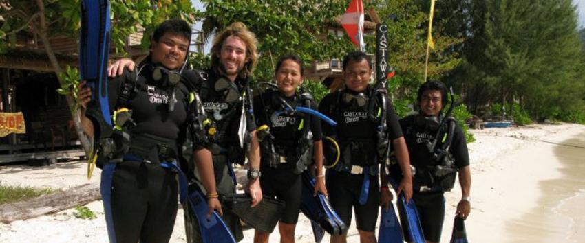 Ko Lipe Divers (Castaway Divers), Thailand, Andamanensee