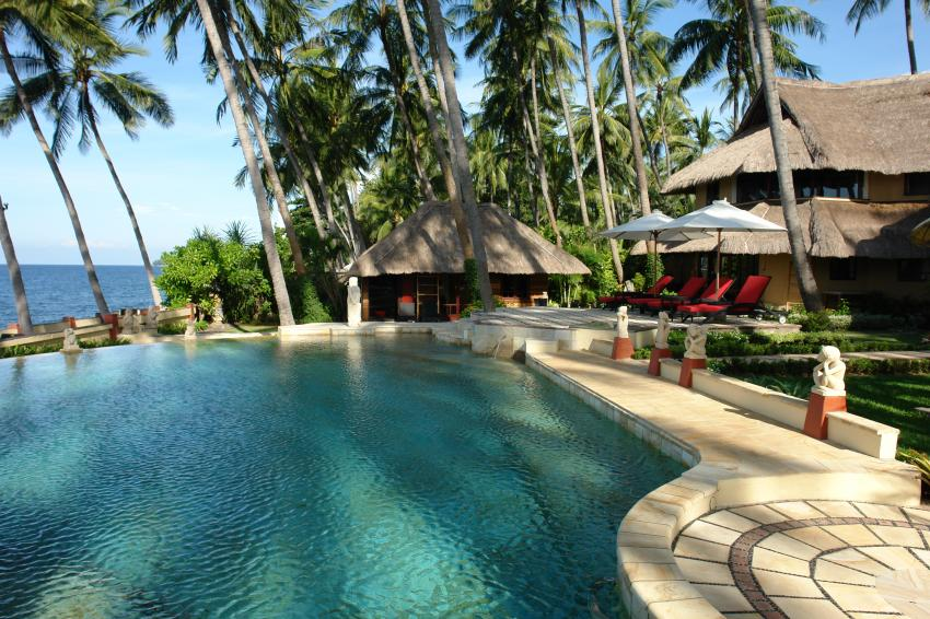 Hotel Und Pool Direkt Am Meer Bali Villa Dive Resort Foto 311135 Auf Taucher Net