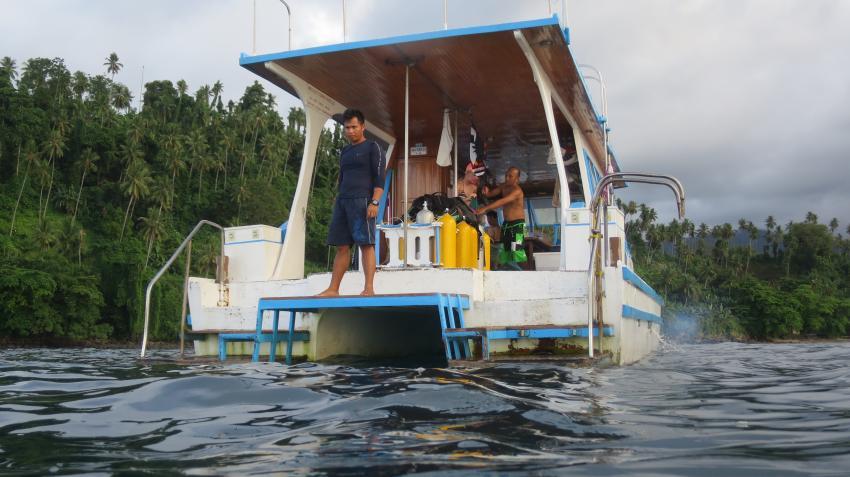 ...einfach nur gut organisiert , Lumbalumba Diving Resort, Manado, Sulawesi, Indonesien, Sulawesi