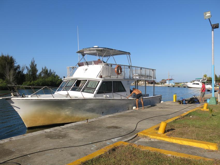 "Tauchboot ""Safari"", Diving Center El Colony, Kuba"