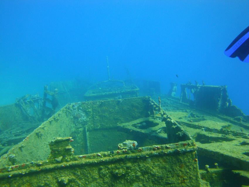 Frachterwrack WK2, Peloponnes - Karavostasi,Griechenland