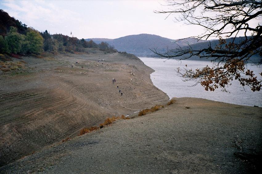 Edersee, Edersee gesamt,Hessen,Deutschland
