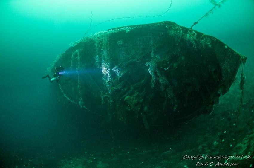 Oldenburg Wrack (Tiefe 27m)