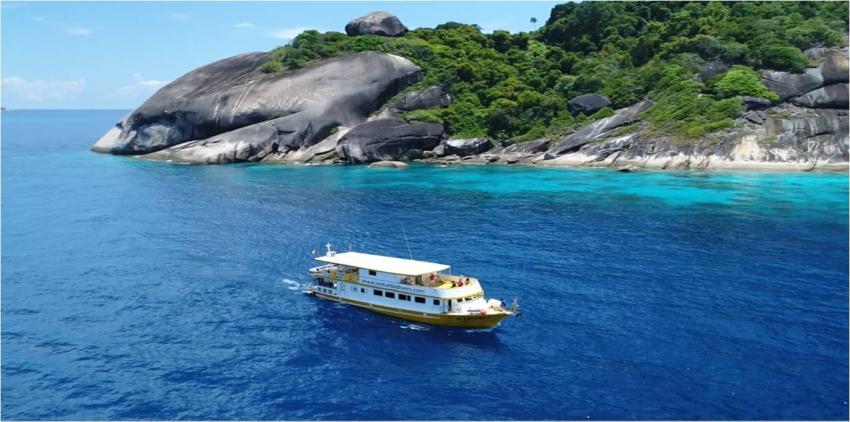 MV AMAPON, Liveaboard, Safariboot, Sea Turtle Divers - Khao Lak, Thailand, Andamanensee