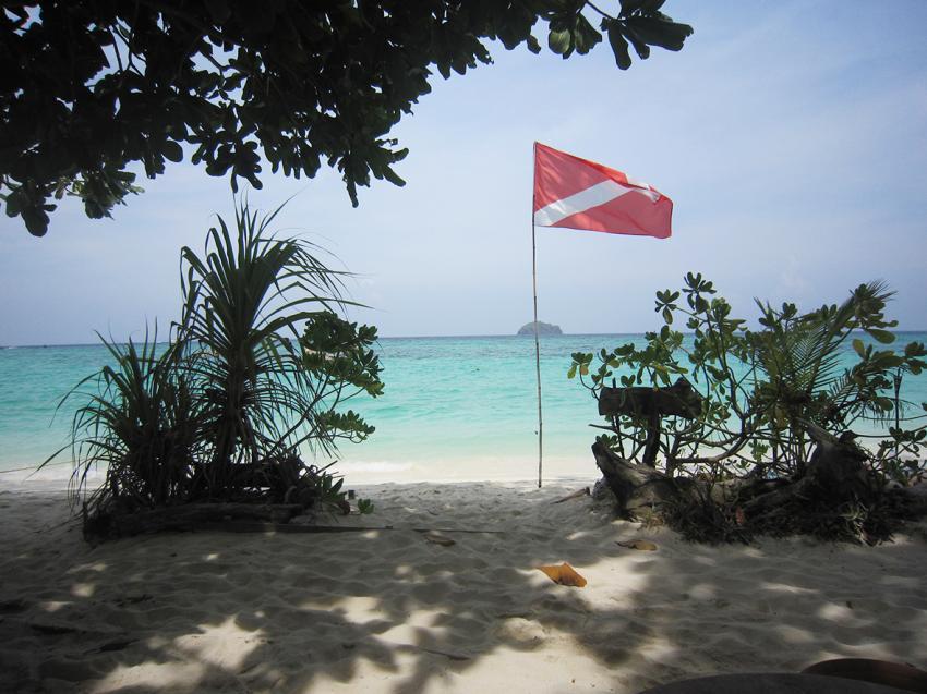 Castaway Resort beach, Castaway Resort, Ko Lipe, Thailand, Andamanensee