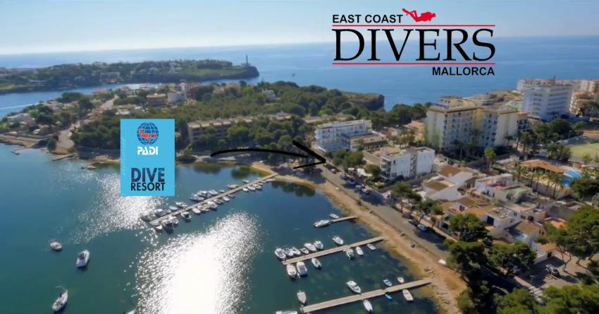East Coast Divers Mallorca, East Coast Divers, Porto Colom, Spanien, Balearen
