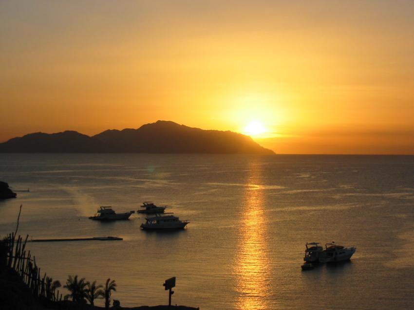 Sharm el Sheikh - Sharks Bay, Shark Bay - Sharm el Sheikh,Ägypten,sonnenaufgang