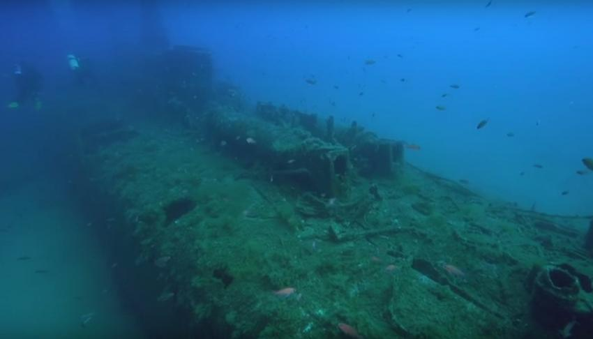Wrack U-Boot Le Rubis, Wrack, U-Boot, Le Rubis, Rubis, St. Tropez, Frankreich