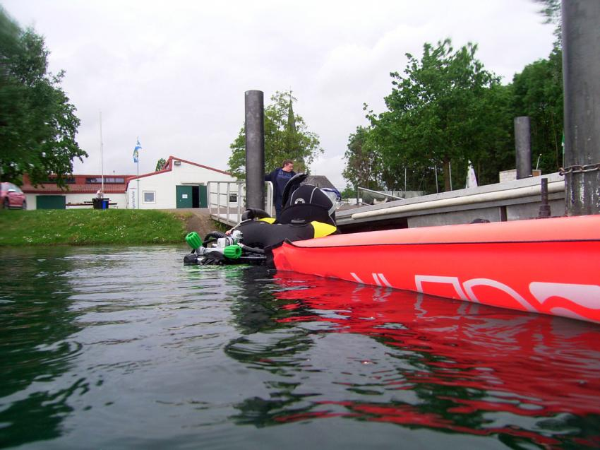 Slipanlage am Xantener Nordsee, xanten, Xantener Nordsee, Deutschland, Nordrhein-Westfalen