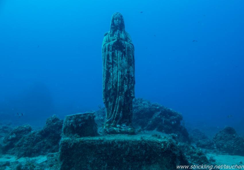 Madonna, Scoglio della Triglia, Spiro-Sub, Marina di Campo (Elba), Italien