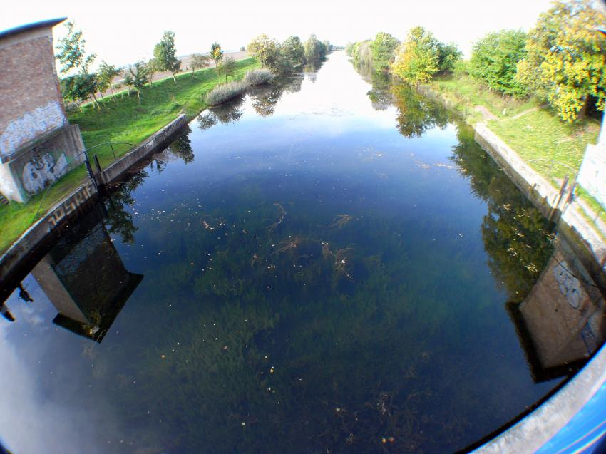 Salle - Elster Kanal, Saale-Elster-Kanal,Sachsen,Deutschland,Kanal