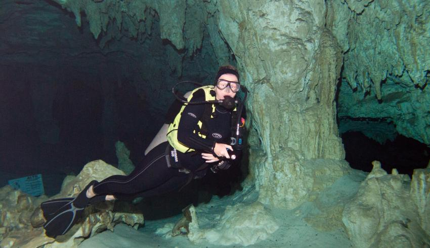 Cenoten, Cenoten gemischt (Cenoten Playa del Carmen,Tulum und Meer),Mexiko,Cenote,Höhlentauchen
